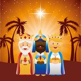 Happy epiphany design Royalty Free Stock Image