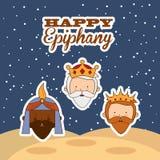Happy epiphany Royalty Free Stock Photos