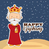 Happy epiphany Royalty Free Stock Photography