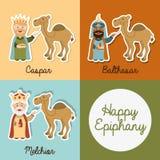 Happy epiphany Stock Photos