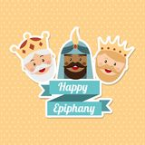 Happy epiphany Stock Photo