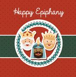 Happy epiphany Royalty Free Stock Photo