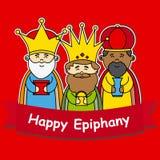 Happy epiphany Royalty Free Stock Image