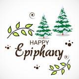 Happy Epiphany. Stock Images