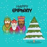 Happy Epiphany. Stock Photos