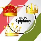 Happy Epiphany. Stock Image