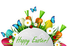 Happy ester card Stock Photography