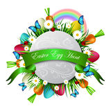 Happy ester card Royalty Free Stock Photo
