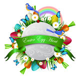 Happy ester card Stock Images