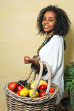 Happy Ethiopian woman Stock Images