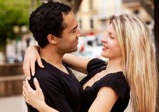 Happy European Couple stock photo