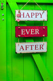Happy ever after Stock Photos
