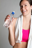 Happy Exercise Woman Royalty Free Stock Photography