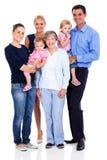 Happy extended family Royalty Free Stock Photos