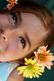 Happy Eyes stock images