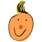 Happy face. Illustration of an happy face royalty free illustration