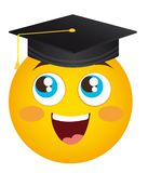 Happy face graduate Royalty Free Stock Photo