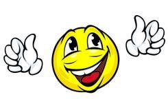 Happy face icon Royalty Free Stock Photos