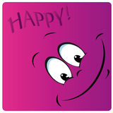 Happy face Royalty Free Stock Photos