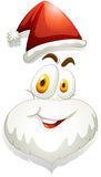 Happy face of Santa Stock Photography