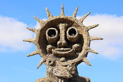 Happy Face statue stock images
