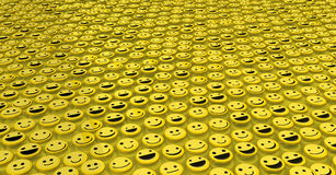 Happy Face Surface Background Stock Photos
