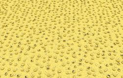 Smiles Floor. Happy face symbols yellow floor abstract, 3d illustration, horizontal background Royalty Free Stock Images