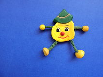 Happy face, toy Stock Image