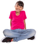 Happy Face Young Girl VIII Stock Photography