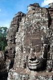 Happy faces Cambodia. Cambodia temples on a stunning bluebird day Stock Images