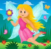 Happy fairy theme image 2 Royalty Free Stock Photos