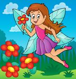 Happy fairy theme image 5 Stock Images