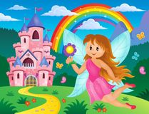 Happy fairy theme image 3 Royalty Free Stock Photos