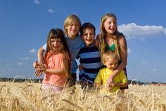Free Happy Family Stock Photography - 1134032