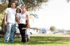 Happy family Stock Image