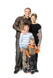 Happy family. Royalty Free Stock Photo