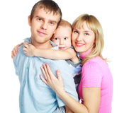 Happy family Royalty Free Stock Photos
