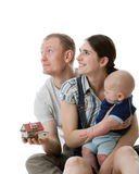 Happy family. Royalty Free Stock Image