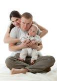 Happy family. Stock Photos