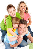 Happy family Stock Photography