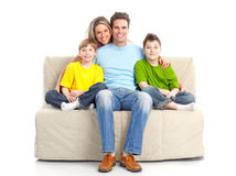 Happy family Stock Image