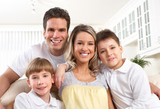 Happy family Royalty Free Stock Photos