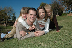 Happy Family Royalty Free Stock Photo
