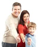 Happy family. Stock Photo