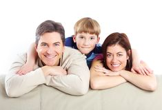 Happy family. Royalty Free Stock Photos