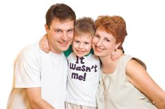 Happy family Royalty Free Stock Image