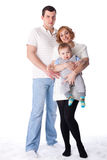 Happy family. Stock Image