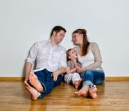 Happy family Royalty Free Stock Images