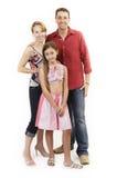Happy family stock photos