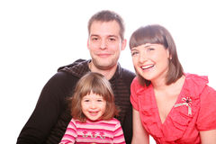 Happy Family! Royalty Free Stock Image